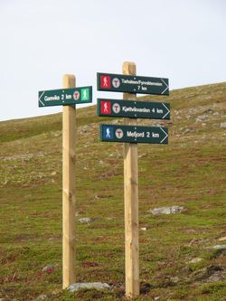 Skilt turstier nordre Sørøya02