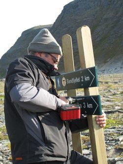 Skilt turstier nordre Sørøya05