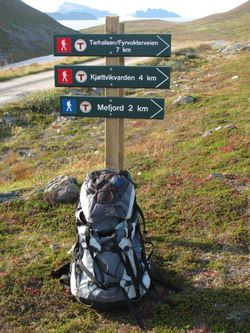 Skilt turstier nordre Sørøya06