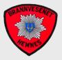 Logo brannvesen med grå bakgrunn