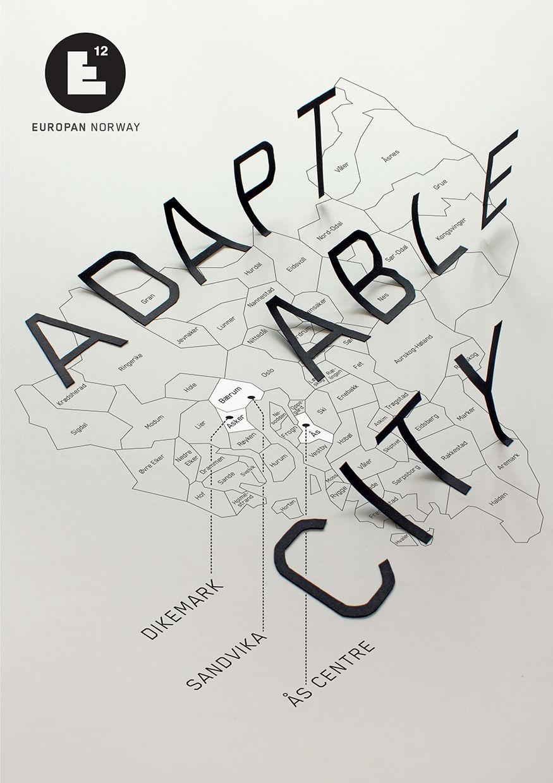 Europan plakat arkitektkonkurranse 2013