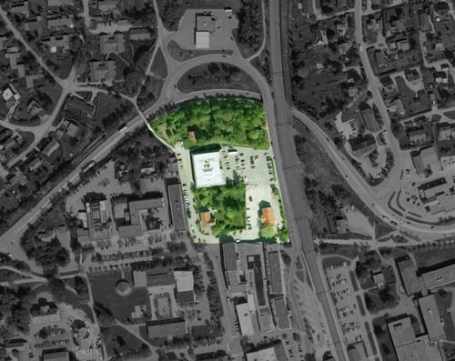 ÅS Europan oversiktsbilde til arkitektkonkurranse