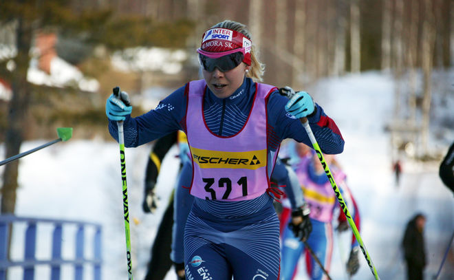 HANNA SEPPAS, IFK Mora SK kommer inte att satsa för fullt varken på rullskidor eller skidor. Men hon kommer inte att lägga av helt. Foto: KJELL-ERIK KRISTIANSEN