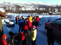 Grilling og div aktiviteter i steggliveien påska 2013