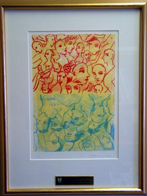 Bildet - kunstverk av Johanne Marie Hansen-Krone - ærespris