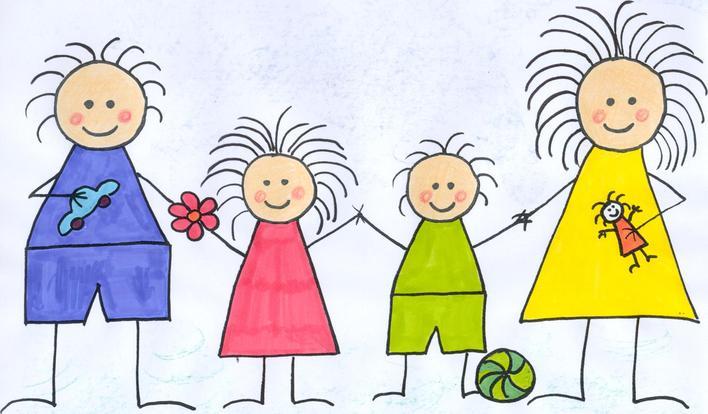 Illustrasjon barn