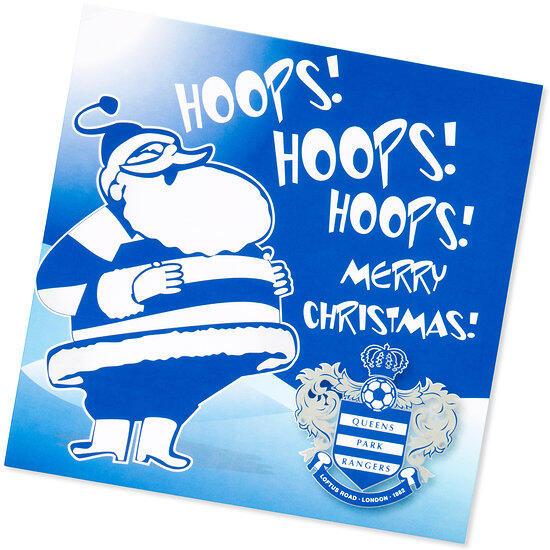 Hoops Christmas Card