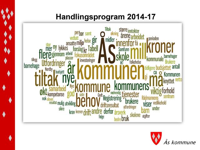 Handlingsprogram med økonomiplan 2014-2017 forsideilluastrasjon