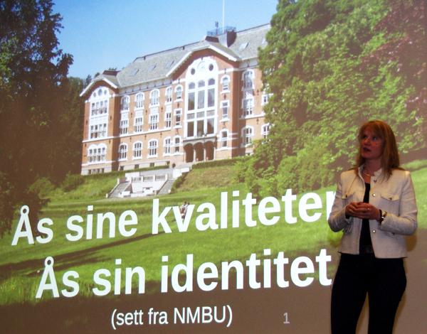 Ås 2040 debattleder Mari Sundli Tveit