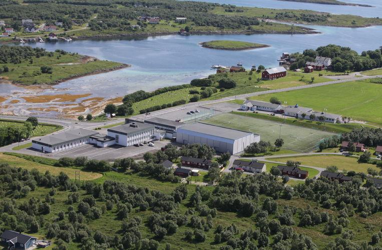 Flyfoto Herøy skole