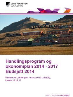 Handlingsprogram økonomiplan budsjett 2014 forside