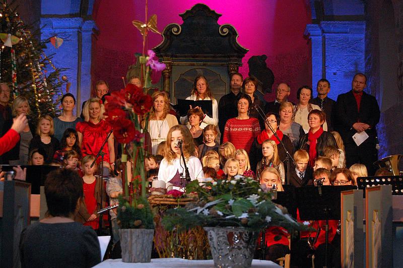 Herøy Musikkorps_Julekonsert_kor