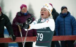 JONNA SUNDLING var med och vann JVM-stafetten redan förra säsongen! Foto: KJELL-ERIK KRISTIANSEN