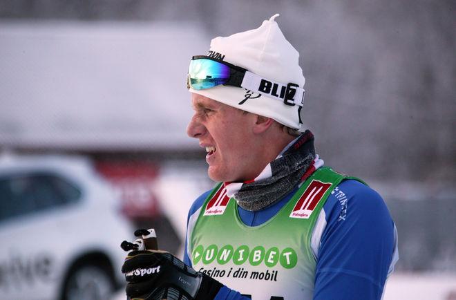 MARCUS RUUS, Gillberga SK var överlägsen i herrarnas 20 km masstart i Scandic Cup i Idre. Foto: MARCELA HAVLOVA
