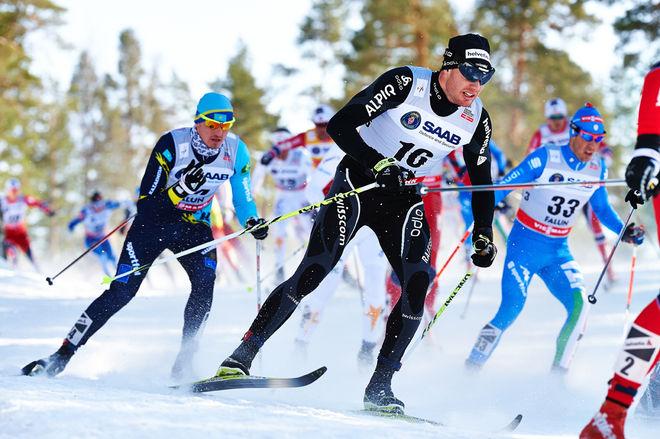 DARIO COLOGNA var trea i Alpen Cup i Chamonix i helgen och gör snabb framgång efter sin operation. Foto: NORDIC FOCUS