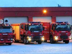 Brannbiler - Foto: Jan Olav Sæter