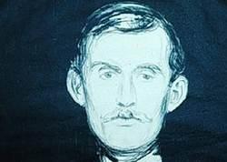 Edvard Munch selvportrett