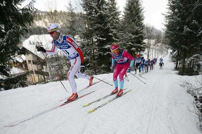 26.01.2014, Val di Fassa/Val di Fiemme, Italy (ITA): Annika Lofstroem (SWE) - FIS Marathon Cup Marcialonga, Val di Fassa/Val di Fiemme (ITA). www.nordicfocus.com. © Rauschendorfer/NordicFocus. Every downloaded picture is fee-liable.