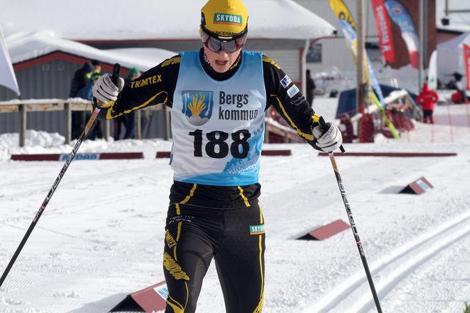 ERIK LIEBACK vann individuellt i fredags, nu förde han sitt Ulricehamns IF in till USM-seger i stafett. Foto: THORD ERIC NILSSON