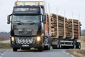 tømmerbil