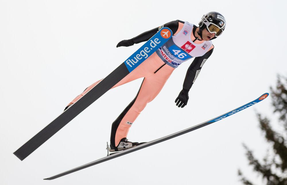 06.01.2014, Bischofshofen, Austria (AUT): Ronan Lamy Chappuis (FRA)- FIS world cup ski jumping, four hills tournament, individual HS140, Bischofshofen (AUT). www.nordicfocus.com. © Laiho/NordicFocus. Every downloaded picture is fee-liable.