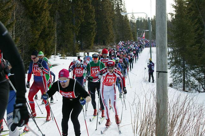 ÅREFJÄLLSLOPPET kommer att köras i år också trots en knackig snövinter i jämtlandsfjällen. Här från en tidigare utgåva. Foto/rights: MARCELA HAVLOVA/sweski.com