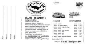 Forside lodd - Fiskefestivalen 2014