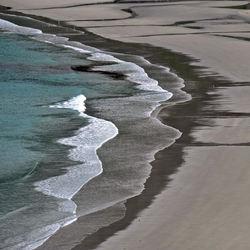 Rent kystvann og sandstrand