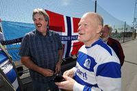 Fra Supporterturneringa 2010. Phil Parkes og John Arild Løken, QPR.