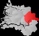 Luster kommune within Sogn og Fjordane.png