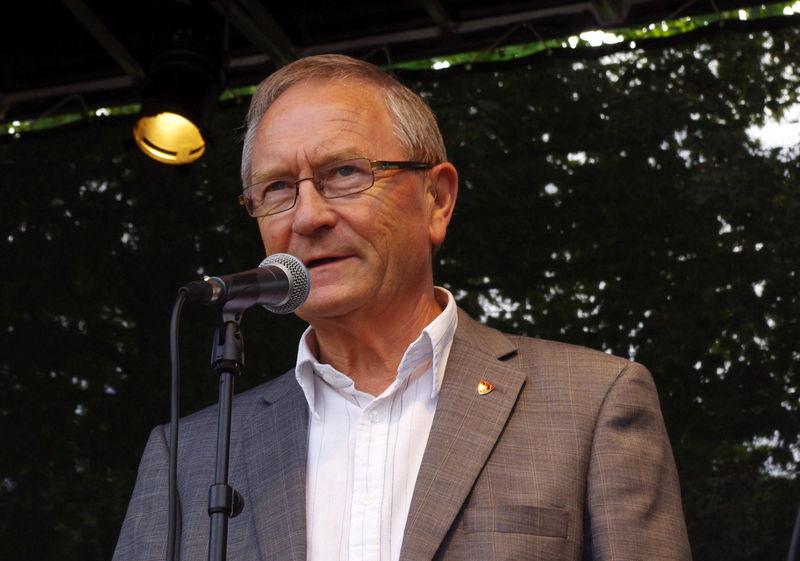 Orfører Johan Alnes åpner Ås mart