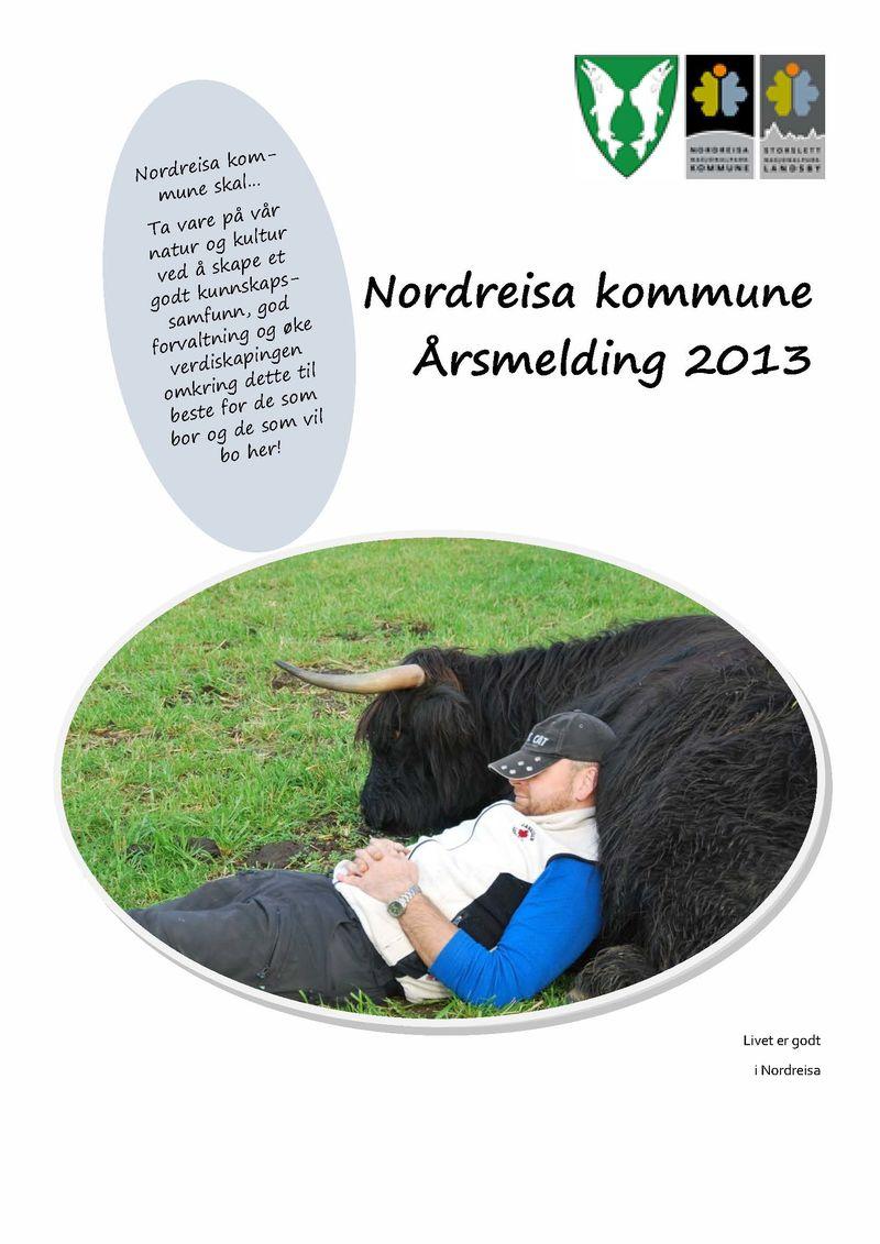 Årsmelding 2013 Nordreisa kommune