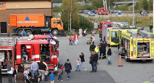 Åpen dag på brannstasjonen
