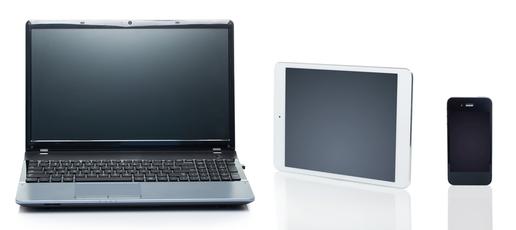 Bærbar PC, nettbrett og smarttelefon