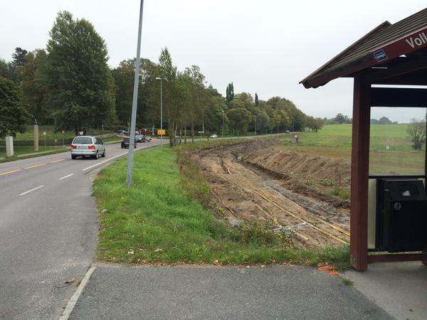 Rundkjøring Aboretvegen og Drøbakvegen