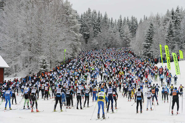 02.03.2014, Mora, Sweden (SWE): first climb - FIS Marathon Cup Vasaloppet, Mora (SWE). www.nordicfocus.com. © Rauschendorfer/NordicFocus. Every downloaded picture is fee-liable. NordicFocus