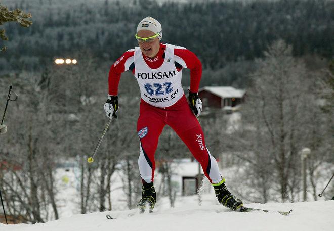 BJÖRN SANDSTRÖM, Täfteå var snabbaste junior i Umeå under lördagen. Foto/rights: MARCELA HAVLOVA/sweski.com