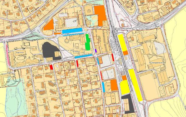Illustrasjonsbilde kart  parkering nye regler
