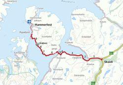 Riksveg 94 Skaidi - Hammerfest