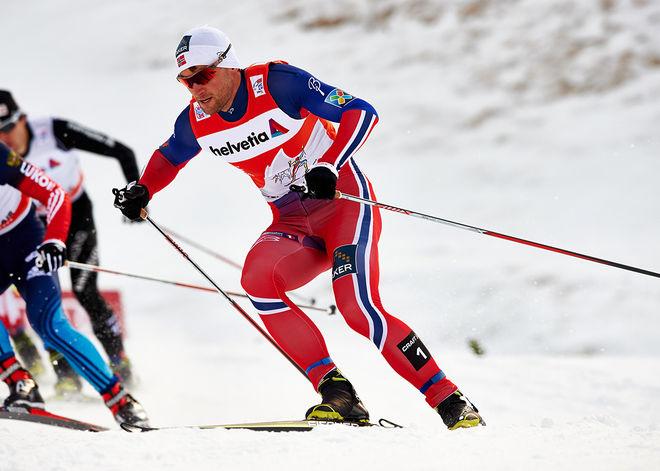 PETTER NORTHUG jr åker endast 15 kilometer i Östersund i helgen. Det betyder att han inte åker lördagens klassiska sprint. Foto: NORDIC FOCUS