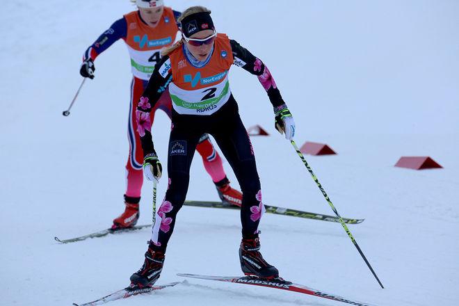 KRISTIN STØRMER STEIRA - här på norska mästerskap i Røros i år - har avslutat sin längdkarriär, men nu är hon plötsligt EM-aktuell i friidrott. Foto/rights: MARCELA HAVLOVA/sweski.com
