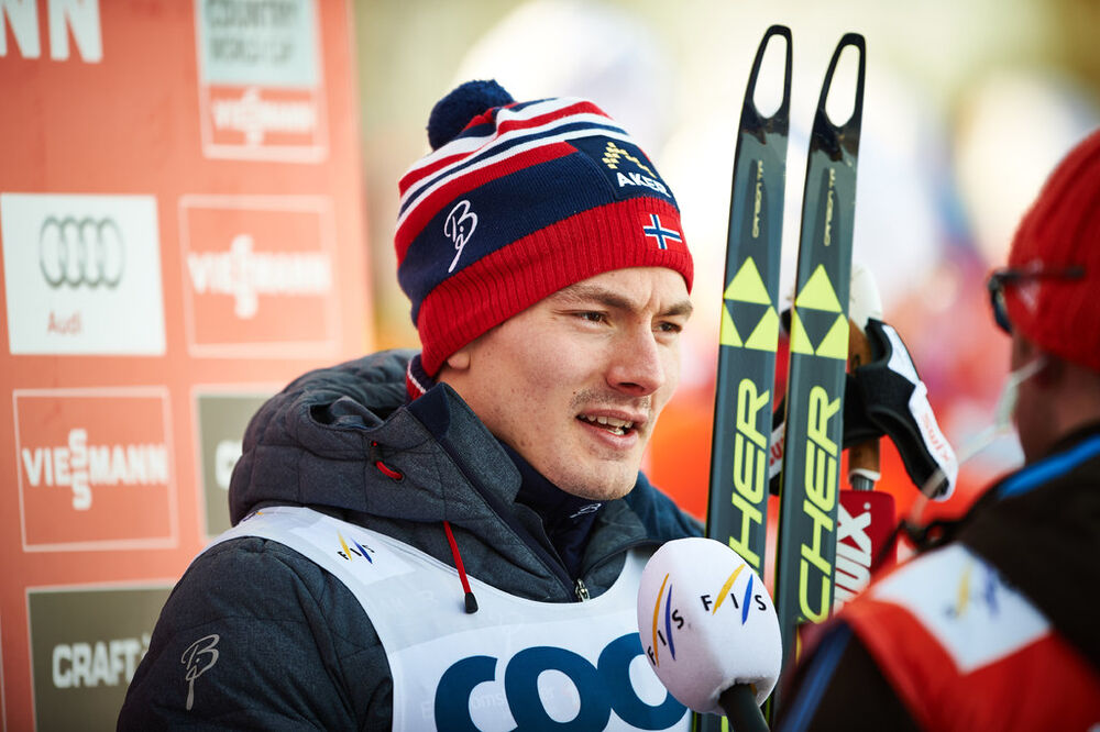 15.02.2015, Oestersund, Sweden (SWE): Finn Haagen Krogh (NOR)- FIS world cup cross-country, 15km men, Oestersund (SWE). www.nordicfocus.com. © Felgenhauer/NordicFocus. Every downloaded picture is fee-liable.