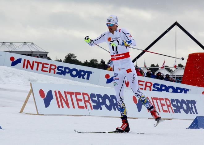 JOHAN OLSSON gjorde sitt bästa skejtlopp i karriären och krönades med VM-guldet på 15 km. Men hinnar han i form till att försvara guldet i Lahtis? Foto/rights: MARCELA HAVLOVA/sweski.com