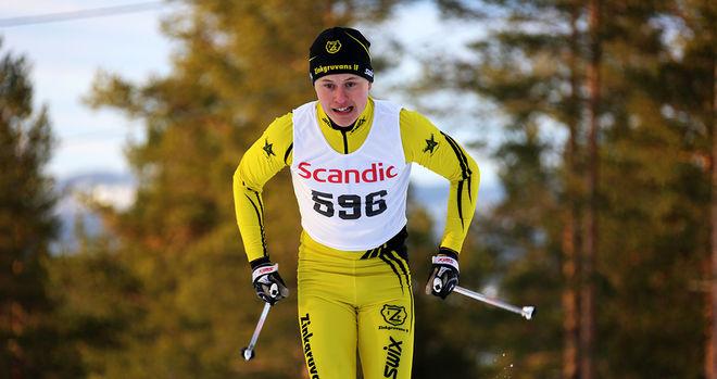 MARKUS JOHANSSON från Zinkgruvan i Närke var snabbast i sprintprologen i H19-20. Foto/rights: KJELL-ERIK KRISTIANSEN/sweski.com