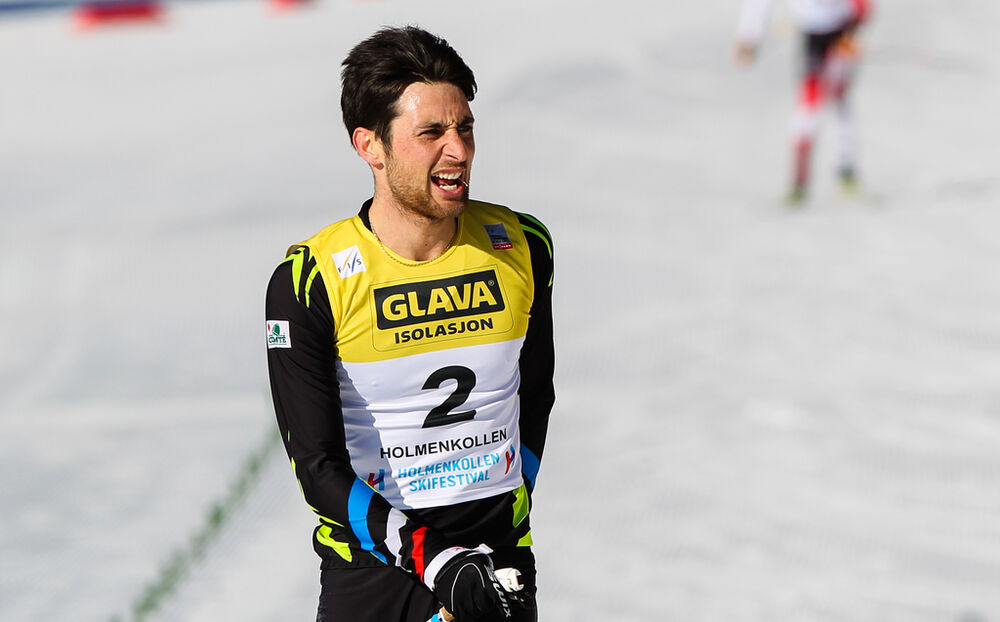 14.03.2015, Oslo, Norway (NOR): Jason Lamy Chappuis (FRA), Salomon, Swix, One Way- FIS world cup nordic combined, individual gundersen HS134/10km, Oslo (NOR). www.nordicfocus.com. © Laiho/NordicFocus. Every downloaded picture is fee-liable.