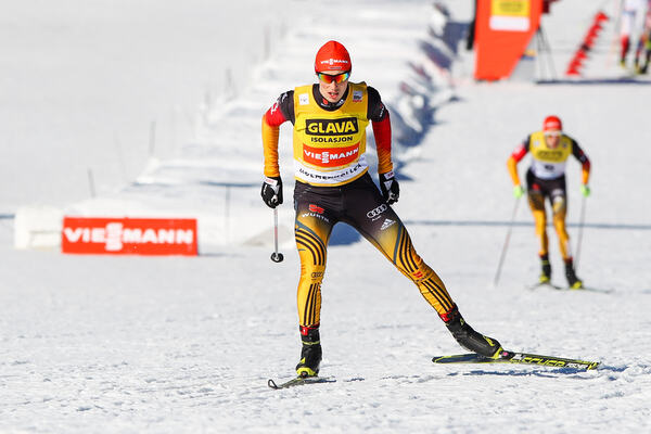 14.03.2015, Oslo, Norway (NOR): Eric Frenzel (GER), Fischer, Swix, Rottefella, Adidas- FIS world cup nordic combined, individual gundersen HS134/10km, Oslo (NOR). www.nordicfocus.com. © Laiho/NordicFocus. Every downloaded picture is fee-liable. NordicFocus