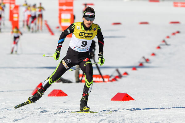 14.03.2015, Oslo, Norway (NOR): Francois Braud (FRA), Fischer, One Way- FIS world cup nordic combined, individual gundersen HS134/10km, Oslo (NOR). www.nordicfocus.com. © Laiho/NordicFocus. Every downloaded picture is fee-liable. NordicFocus