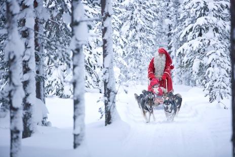 Image Pere Noel En Ski.Ski De Fond Et Pere Noel A Rovaniemi Ski Nordique Net