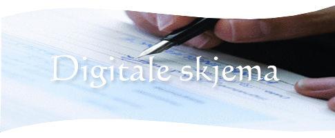 Digitaleskjema