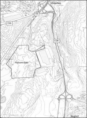 akseltrykk kart Offentlig ettersyn: Forslag til reguleringsplan for utvidelse av  akseltrykk kart